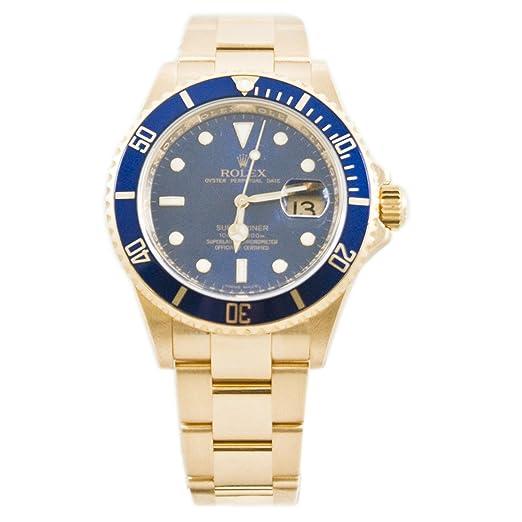 Rolex Submariner automatic-self-wind Mens Reloj 16618lb (Certificado) de segunda mano: Rolex: Amazon.es: Relojes