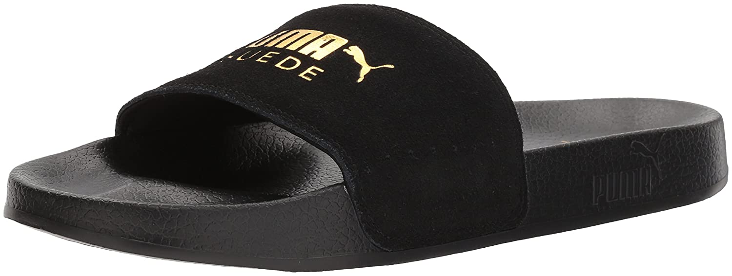 8d6ebaf74345 Puma Men s Leadcat Suede Slide Sandal  Buy Online at Low Prices in India -  Amazon.in