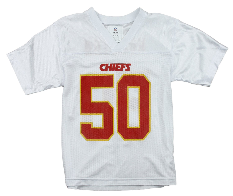 75f483ac944 Amazon.com   Kansas City Chiefs NFL Big Boys Justin Houston   50 Player  Jersey - White   Sports   Outdoors