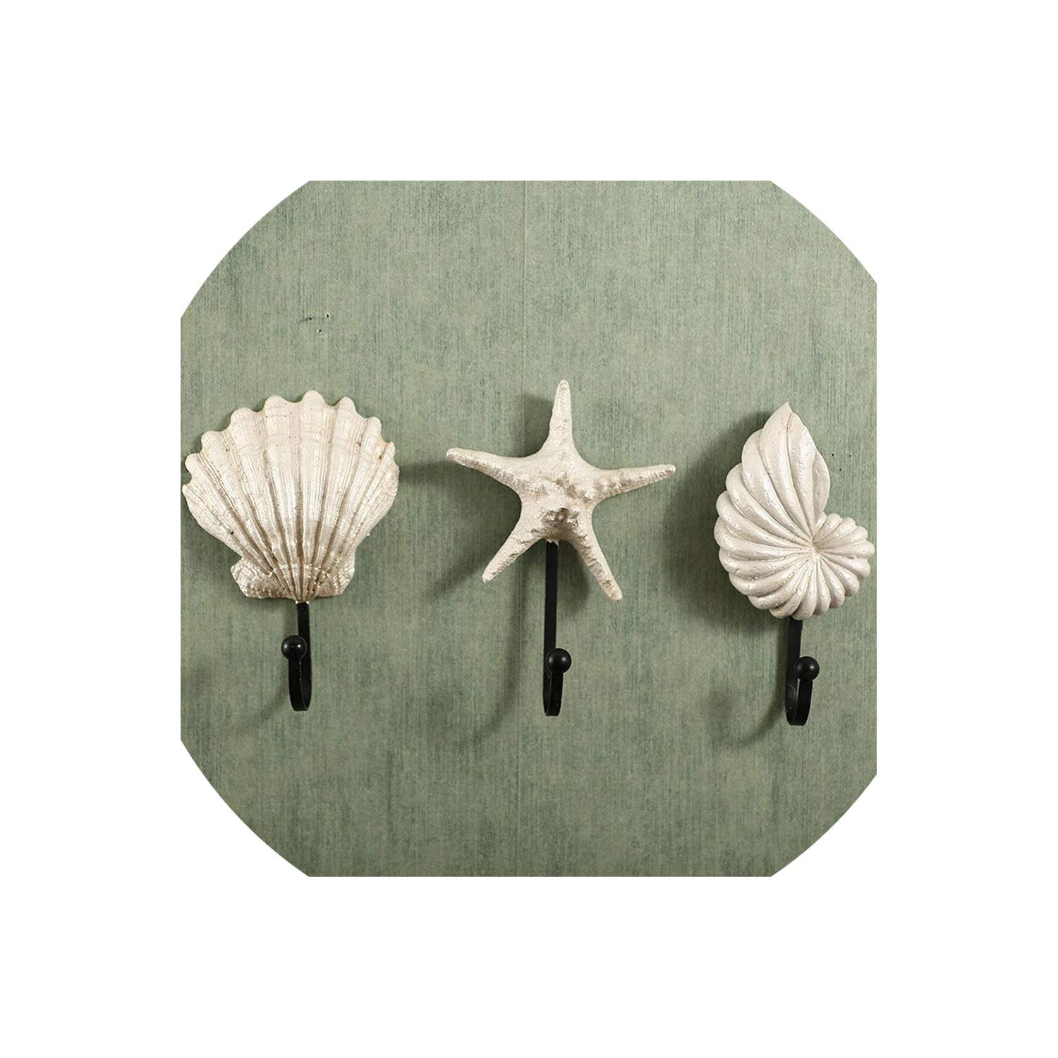 Amazon.com: Trendy Shell Model Wall Hook Home Decoration ...