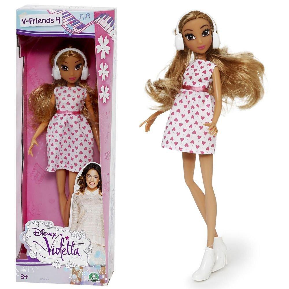 Violetta - Doll Fashion Friends Violetta - Dress with hearts - 25 cm Giochi Preziosi