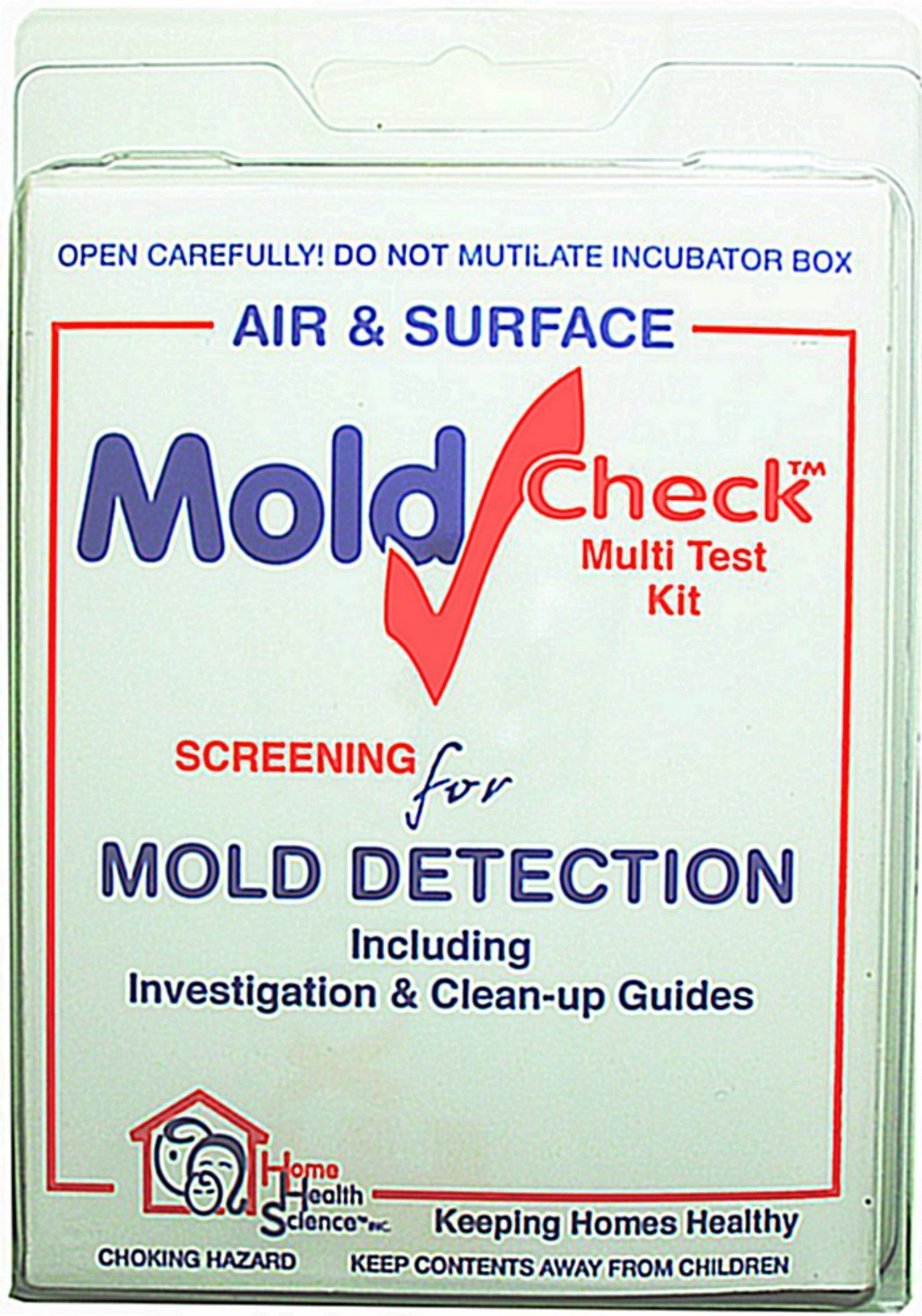 moldcheck mold test kit 10 tests per kit multiple air sampling tests simple visual comparison locate mold source easy to use no lab fee home medical