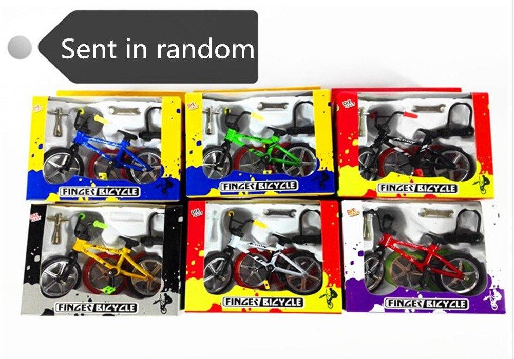 Remeehi Mini Educational Stunt Finger Bike Toy with Tools Wheels Lock Accessories Set