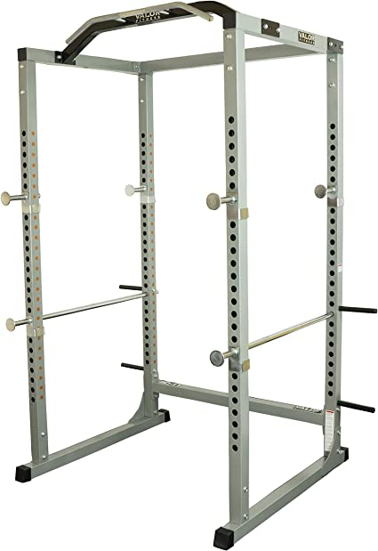Amazon Com Valor Fitness Bd 11 Heavy Duty Power Rack Squat Rack W Chrome Pull Up Bar And Power Cage Exercise Power Cages Sports Outdoors