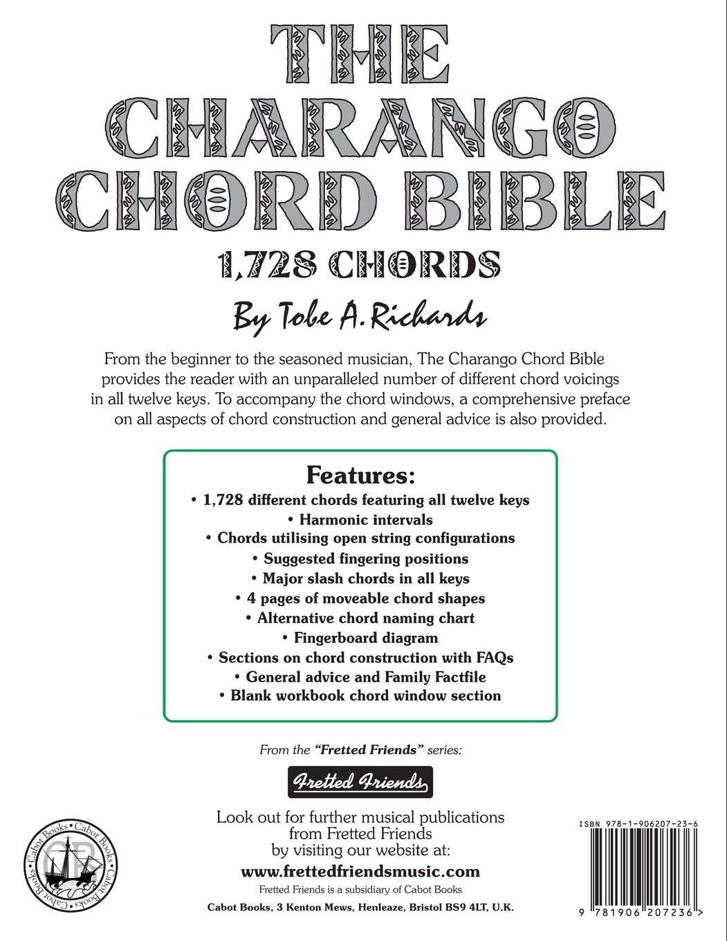 Amazon the charango chord bible gceae standard tuning 1728 amazon the charango chord bible gceae standard tuning 1728 chords fretted friends 9781906207236 tobe a richards books hexwebz Gallery