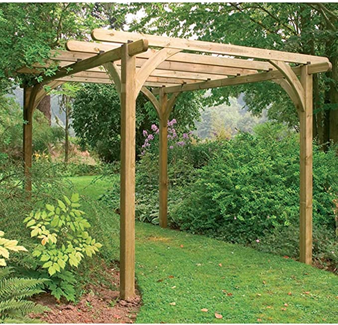 Ultima Kit Pergola 2, 7 x 2, 7 m estructura de jardín al aire ...