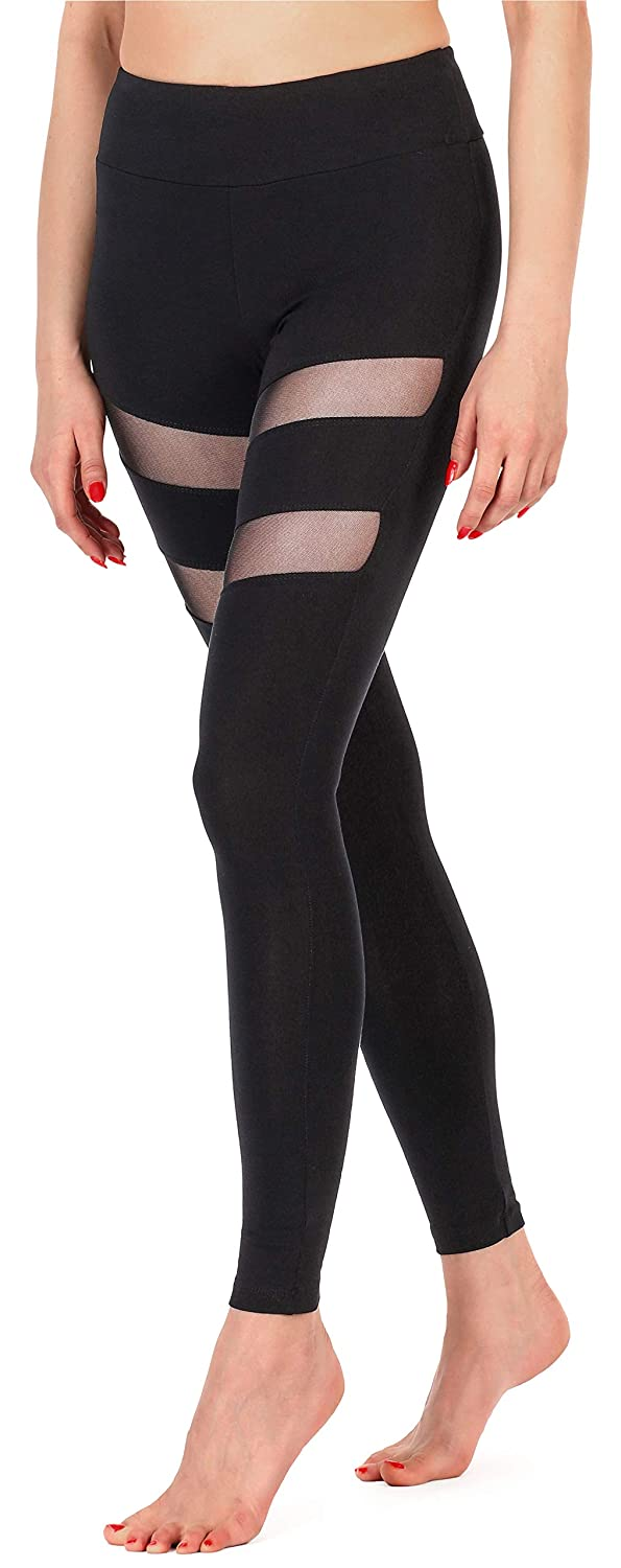 Merry Style Damen Lange Leggings Fitnesshose MS10-232