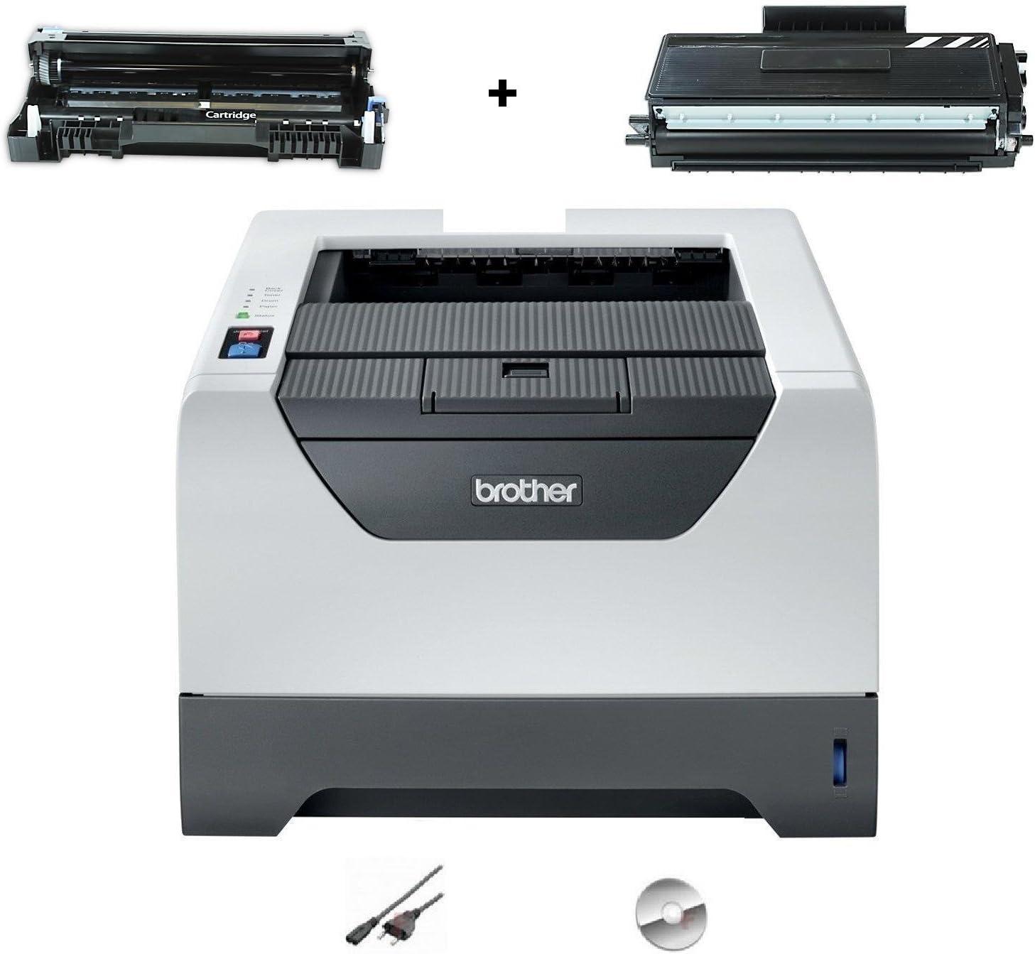 Brother HL 5340D - Impresora láser monocromo (USB, incluye tóner ...