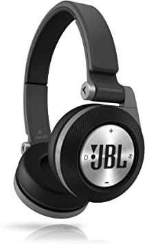 Amazon Com Jbl Synchros E40bt Bluetooth On Ear Headphones With Jbl Signature Sound Purebass Performance Wireless Shareme Music Sharing And A Superior Fit Black Electronics
