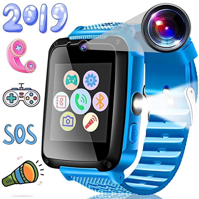 Kids Phone Smart Watch With SOS Smartwatch For 3 14 Year Boys Girls