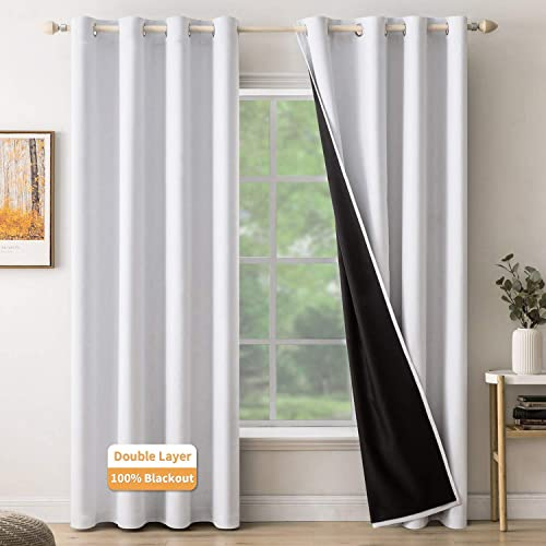 MIULEE Blackout Curtains Room Darkening Curtains 100 Light Blocking Thermal Insulated Window Curtain Drapes