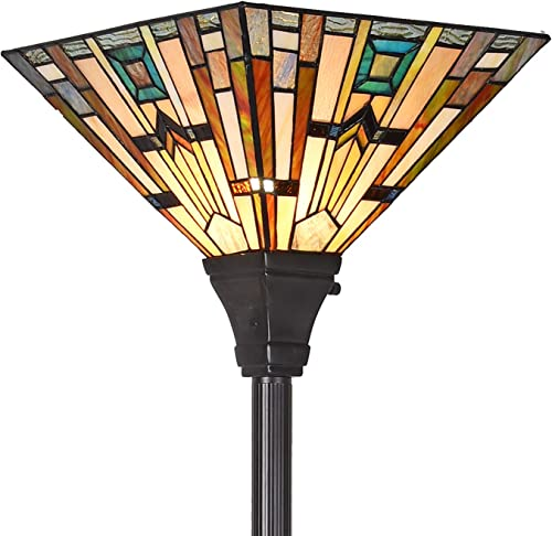 Cotoss Tiffany Floor Lamp