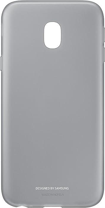 SAMSUNG Jelly Cover - Carcasa Galaxy J3 2017, Color Negro: Amazon.es: Electrónica