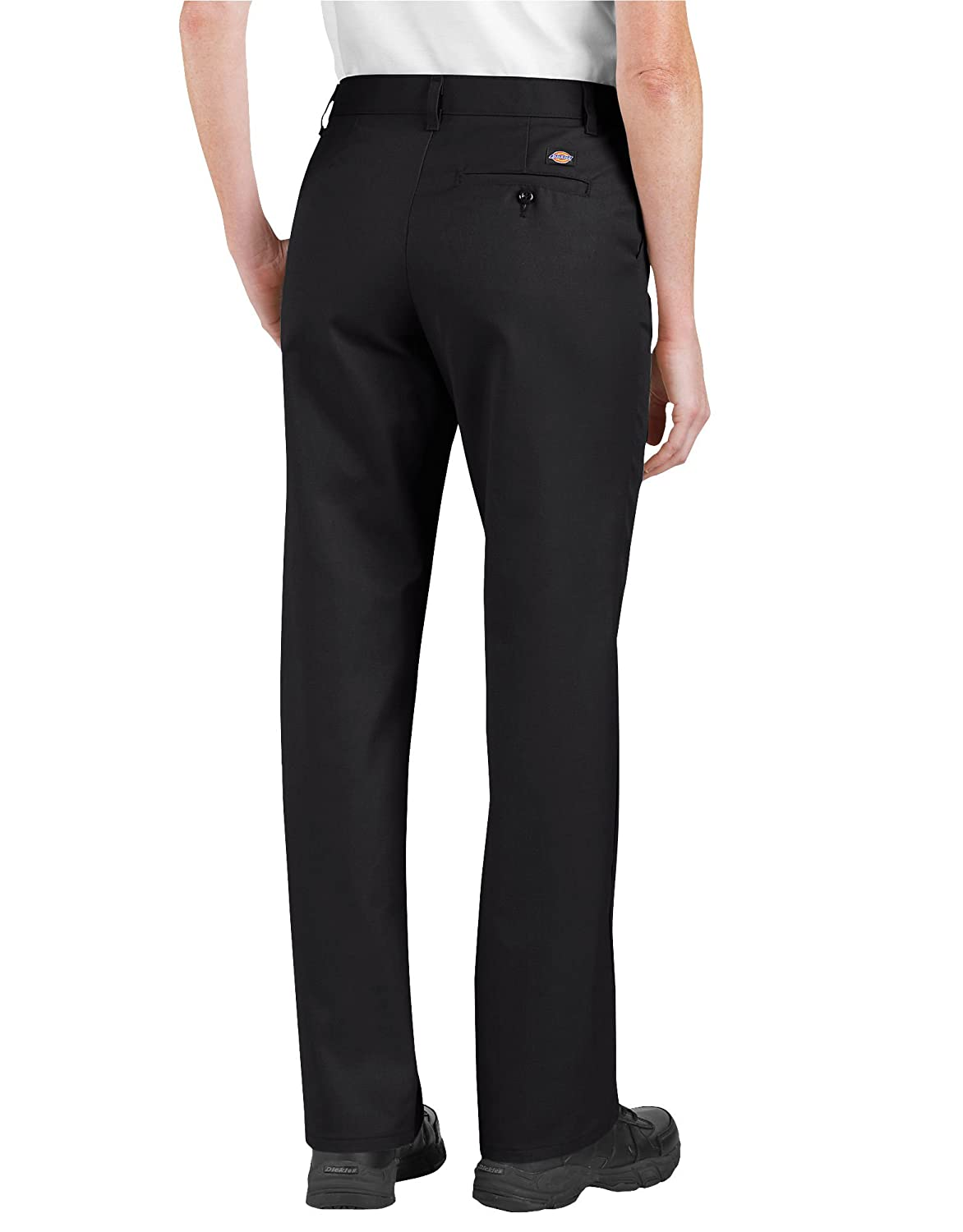 Dickies Occupational Workwear FP322DS4RG FP322 Womens Relaxed Fit Flat Front Pant Desert Sand 4RG Fabric