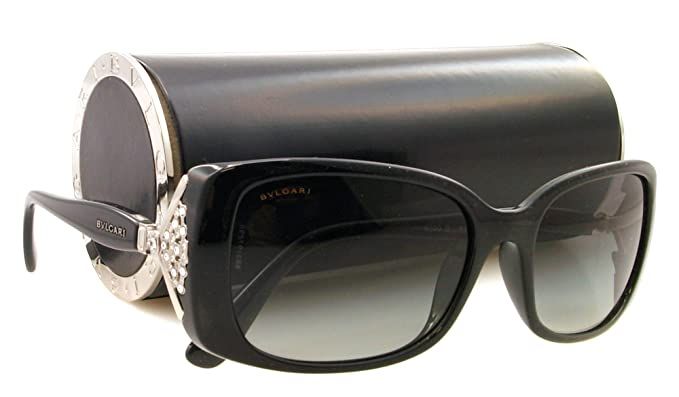 Amazon.com: anteojos de sol Bvlgari BV 8099-b Negro 901/11 ...