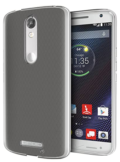 DROID Turbo 2 Case, Cimo [Grip] Premium Slim TPU Flexible Soft Case for