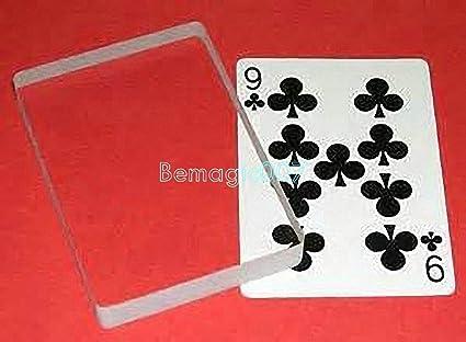 Magic Card Tricks Omni Deck Glass Card Deck