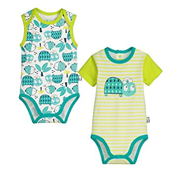 4ff4a704b1351 Petit Béguin - Lot de 2 bodies bébé garçon Nino - Taille - 3 mois ...