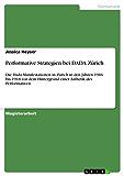 Performative Strategien bei DADA Zürich: Die Dada-Manifestationen in Zürich in den Jahren 1916 bis 1918 vor dem Hintergrund einer Ästhetik des Performativen