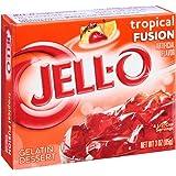 Jell-O Tropical Fusion Gelatin Mix 3 Ounce Box