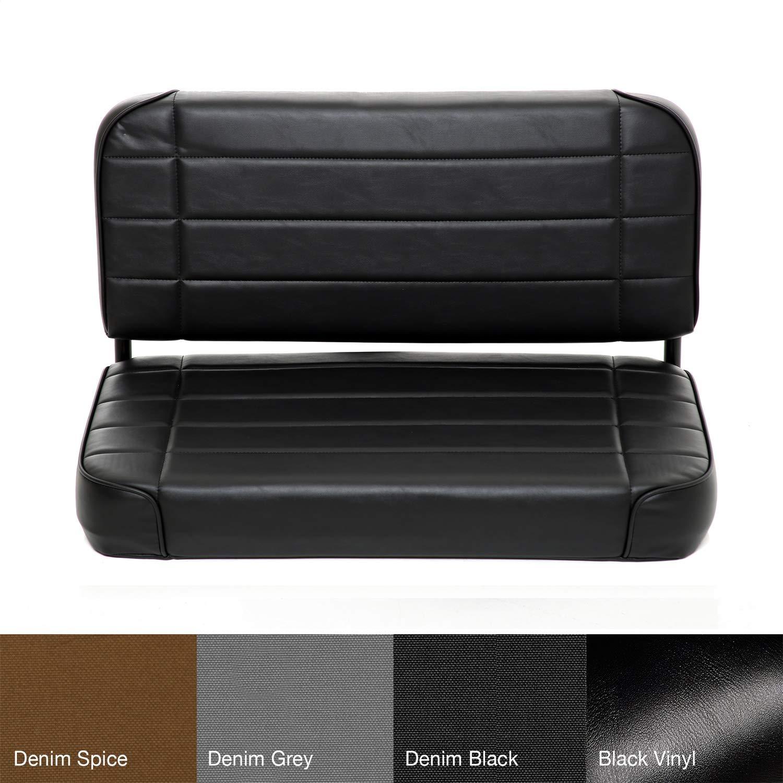 Smittybilt 8001N Black Standard Rear Seat by Smittybilt
