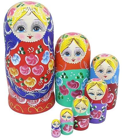 Amazon.com: winterworm Conjunto de 7 piezas Cutie hermosa ...