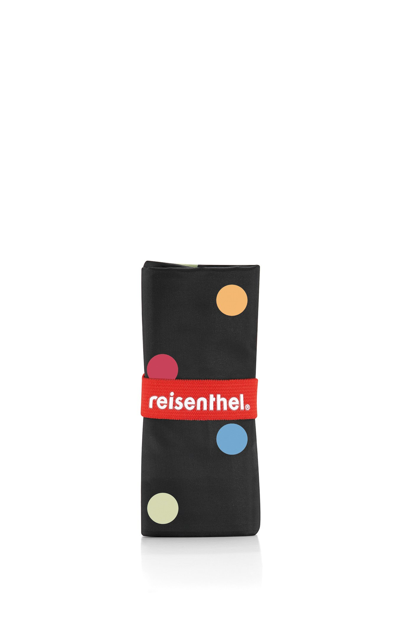 reisenthel Mini Maxi Shopper, Foldable Reusable Shopping Tote with Elastic Band, Dots by reisenthel (Image #3)