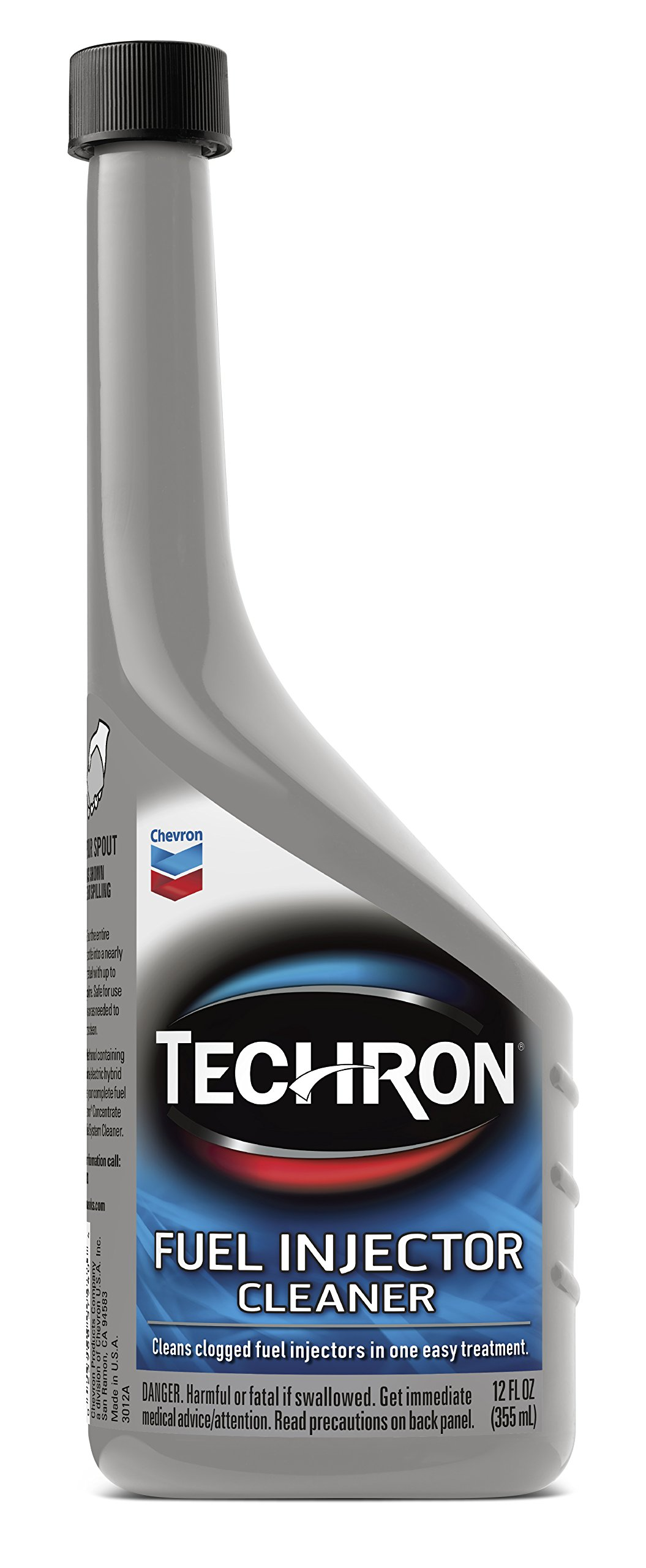 Chevron Techron Fuel Injection Cleaner - 12 oz., (Pack of 6) by Chevron