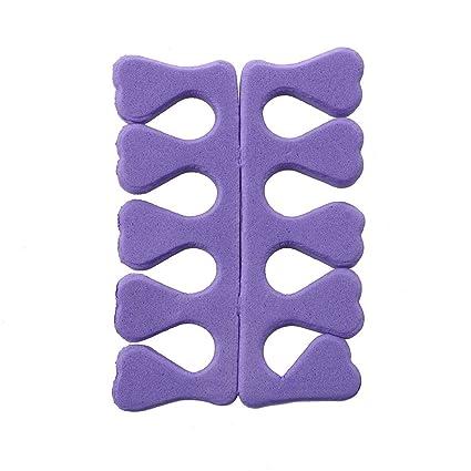 TOOGOO(R) Separador del dedo del pie de Espuma flexible EVA para Manicure Pedicure