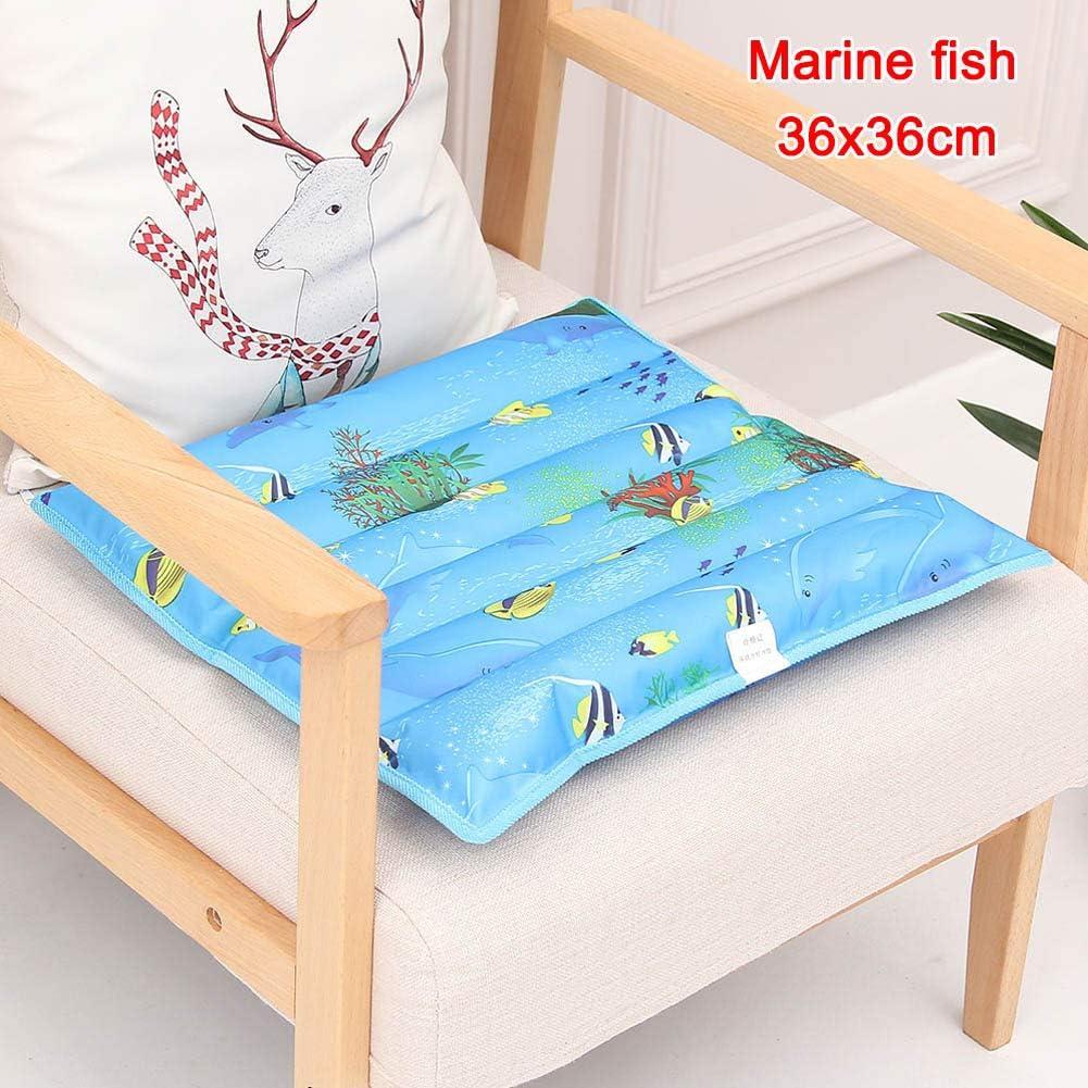 yangGradel Cooling Chair Cushion Sommer K/ühlkissen Wassereis Pad Pet Cooler Wassereinspritzung Autositzkissen