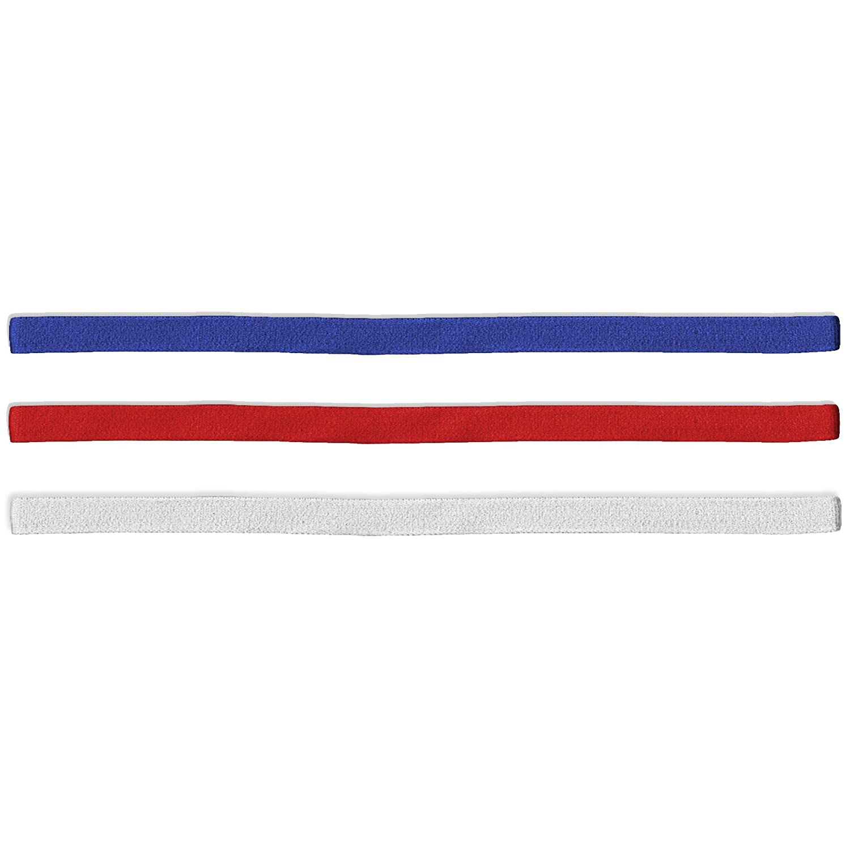 55Sport Unisex Slim Elastic Headbands–3Pack Barbie Pack