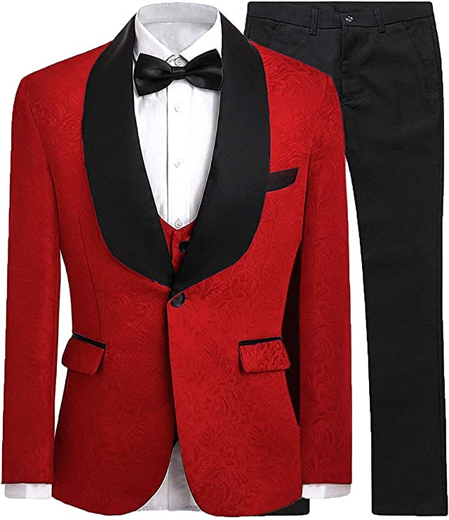 DGMJ Wedding Suits for Boys Slim Fit Tuxedo Suit with Tail Boys Formal Occasion Holiday Outfits HTXZ008