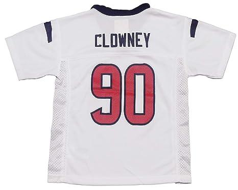Outerstuff Jadeveon Clowney Houston Texans  99 White Kids Away Mid Tier  Jersey (5  237b210a0