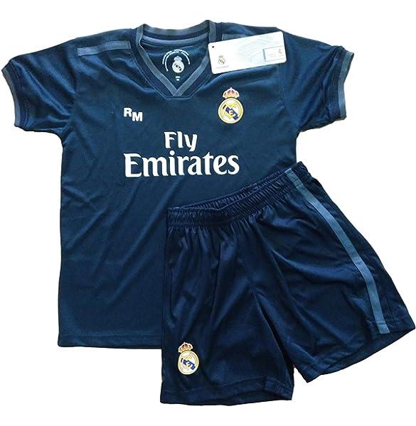 Real Madrid FC Kit Infantil Replica Segunda Equipación 2018/2019 (0 Años): Amazon.es: Deportes y aire libre