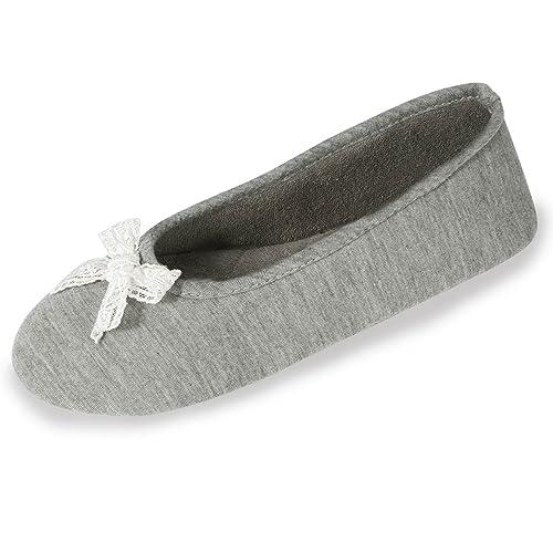 Zapatillas Bailarinas para Mujer Isotoner 37/38: Amazon.es: Zapatos y complementos