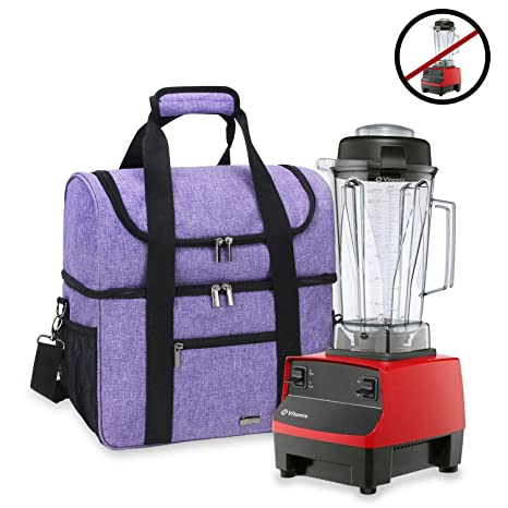 Luxja Carrying Case for 64 oz. Vitamix Blender, Travel Bag for Vitamix  Blender and Accessories (Compatible with 64 oz. Vitamix Blender), Purple