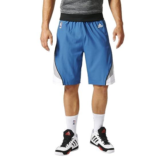 adidas - Pantalones Cortos Swingman de los Houston Rockets: Amazon ...
