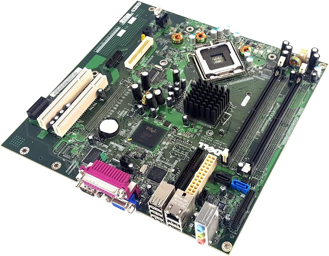 Genuine Dell Intel 945G Express Socket 775 Motherboard For Optiplex GX520 Desktop Systems Part Numbers: RJ291