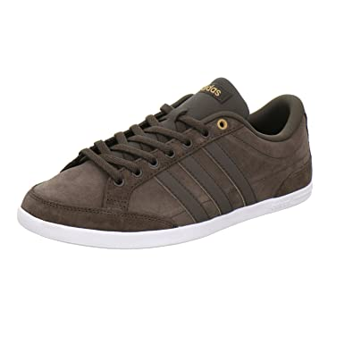 adidas Caflaire - BB9706 - Color White-Brown - Size: 9.0