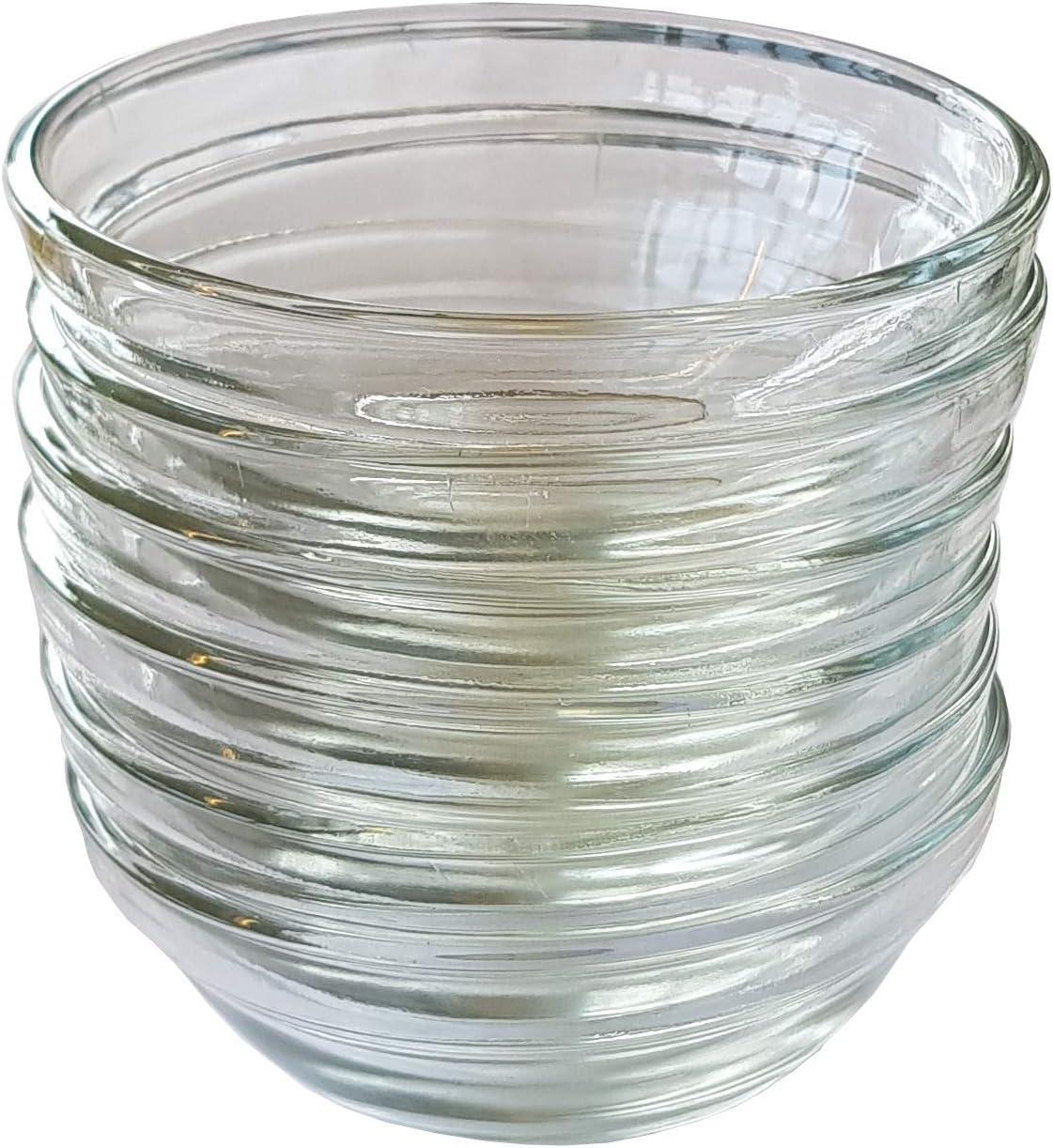 Provance 6 x Sch/üssel aus Glas /Ø 9 cm Glassch/älchen Dipschale Dessertschale Tapasschale