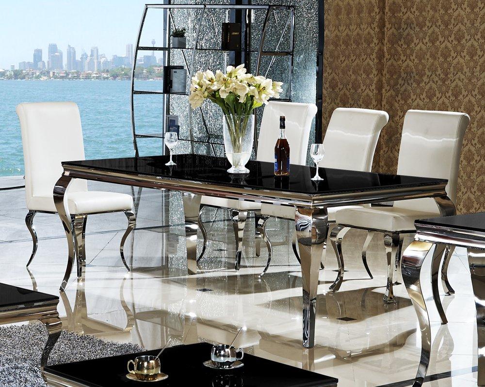 esstisch glas luxus
