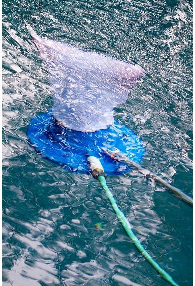 Wheels Fine Mesh Bag Swimming Pool Vacuum Leaf Catcher Skimmer Eater Gulper Net
