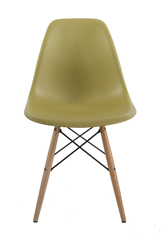 HNN Home Chair, Black, 55x47x82 cm HNNHOME Eames DSW Negro 1u