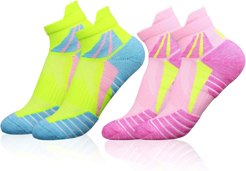 Light Weight VFAMAN Running Socks for Women //EU 35-40 4-7 2 Pairs, UK Trainer Anti-Blister /& Sweat-Wicking Athletic