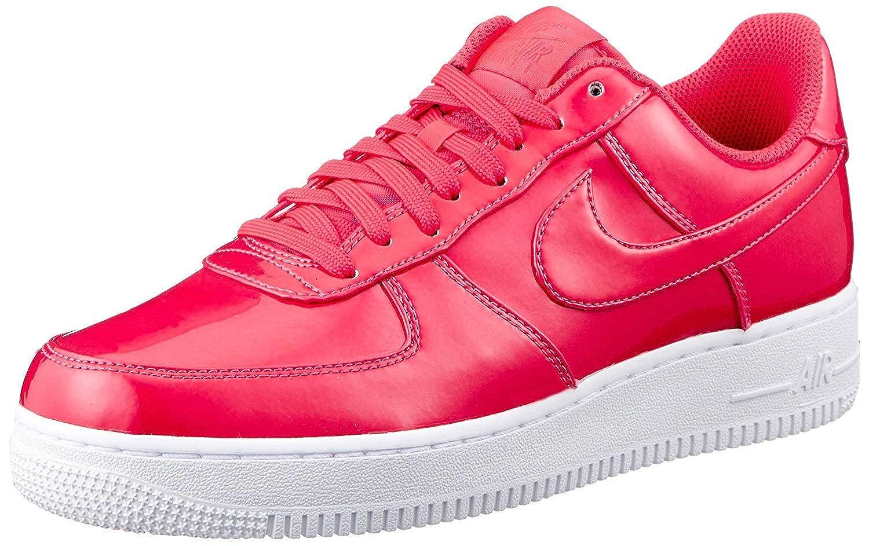 Nike Men's Air Force 1 07 LV8 UV, Siren RedSiren Red White, 14 M US