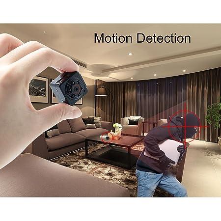 Camara Espia Spy Cam Mini Camara Oculta 1080P HD TANGMI Detección de Movimiento Portátil Videocámara de Video Vigilancia Visión Nocturna por Infrarrojos ...