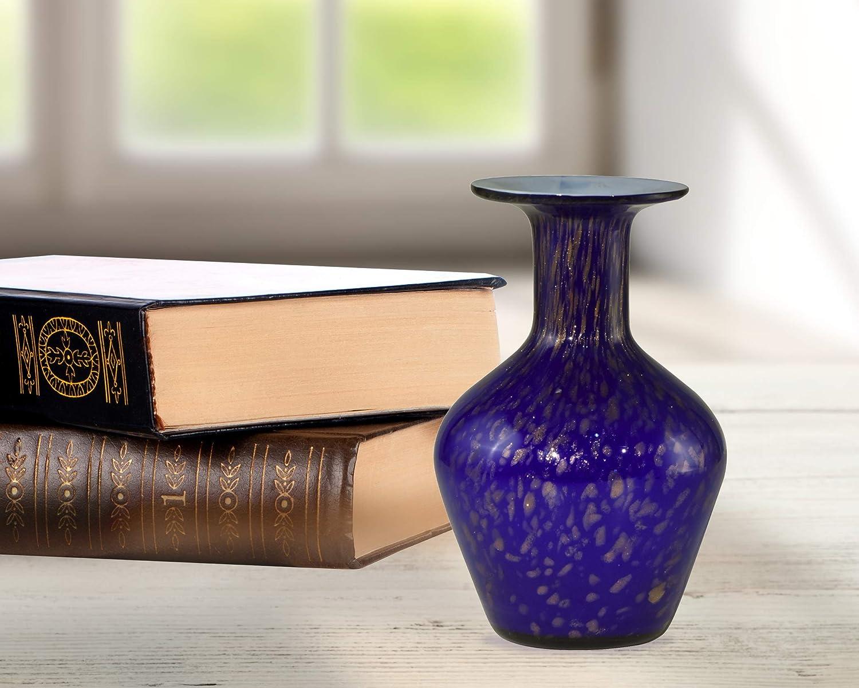 Springdale Vase Slate Blue