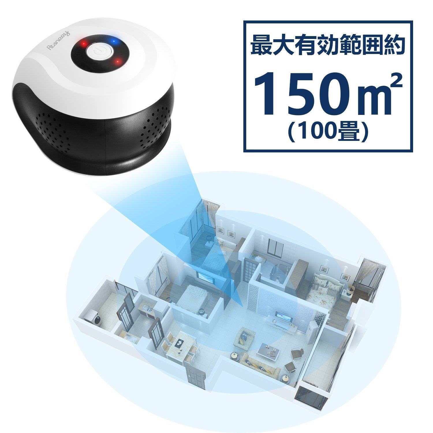 Rtaneey Ultrasonic Pest Repeller Plug In Electronic Zapper Circuit Diagram Bing Images Bug Repellent Control 360 Degree Coverage 6 Kinds Of Ultrasound Wave Mosquito