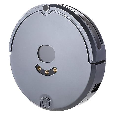acecoree Robot aspirador robot aspirador con función limpiadora Control Remoto (1800 PA Motor, Super
