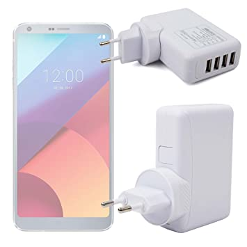 DURAGADGET Cargador De Viaje para Smartphone LG 306G, LG ...